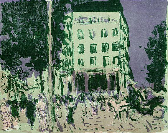 Pierre Bonnard - Les boulevards