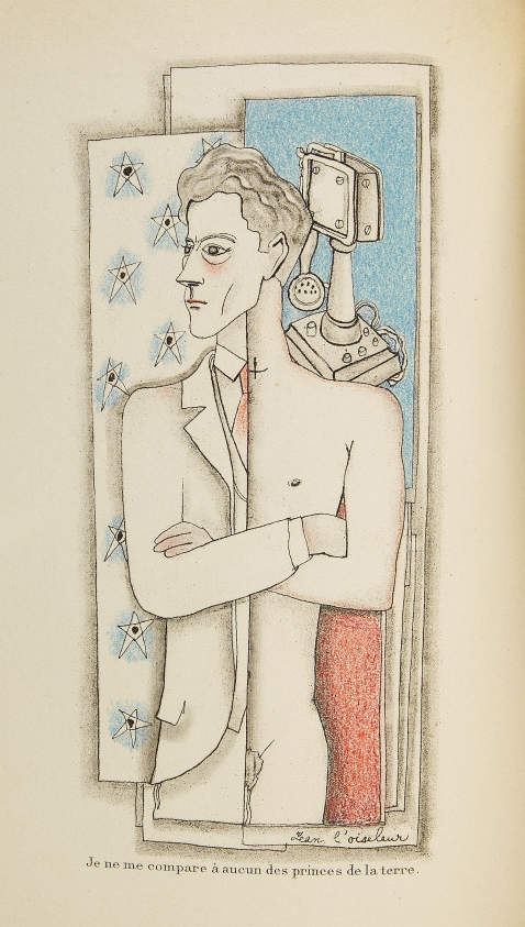 Jean Cocteau - Secret professionnel. 1925