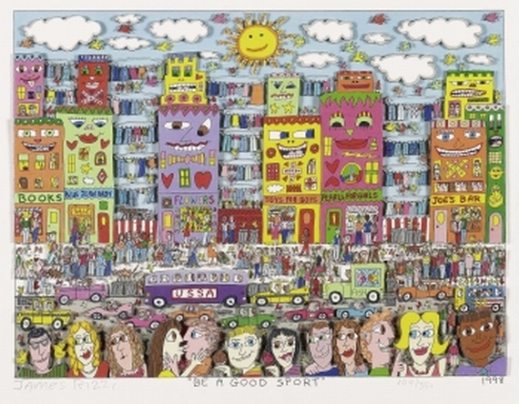 James Rizzi - Be a good Sport
