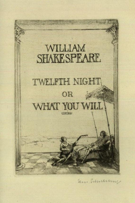 William Shakespeare - What you will. 1927