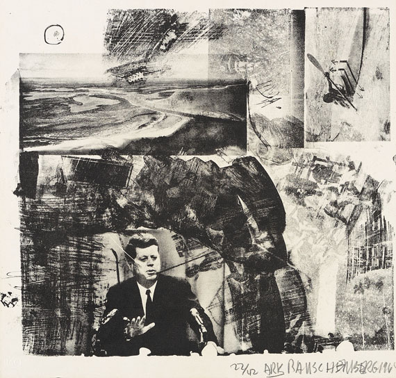 Robert Rauschenberg - XXXIV Drawings for Dante's Inferno
