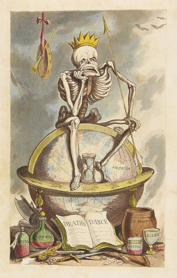 Combe, W. - Dance of death. 1815