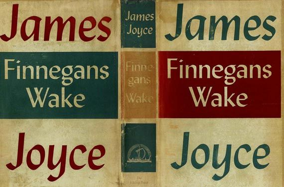 James Joyce - Finnegans Wake. 1939.