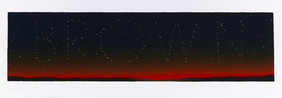 Edward Ruscha - It's in the stars
