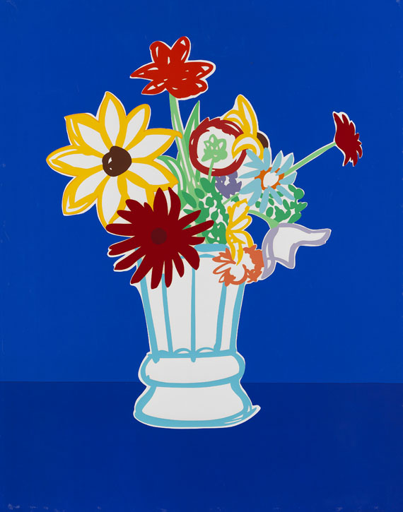 Tom Wesselmann - Country Bouquet with Blue