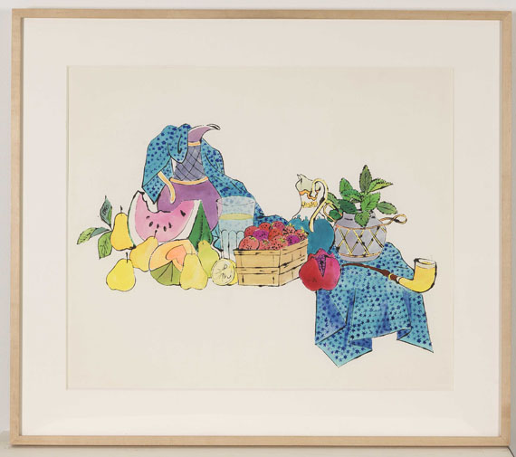 Andy Warhol - Still Life with Fruit on Table - Frame image