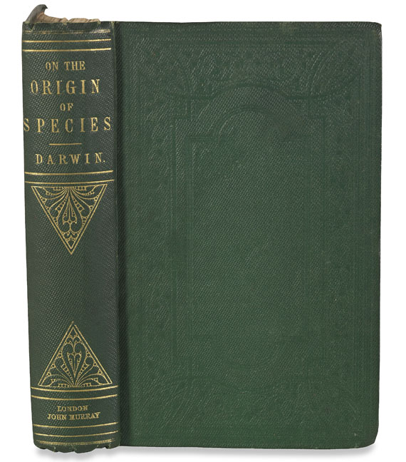 Charles Darwin - Origin of species. Second edition. 1860