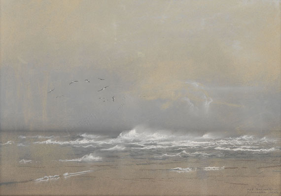 Alfred Bachmann - Flacher Strand (Nordsee)