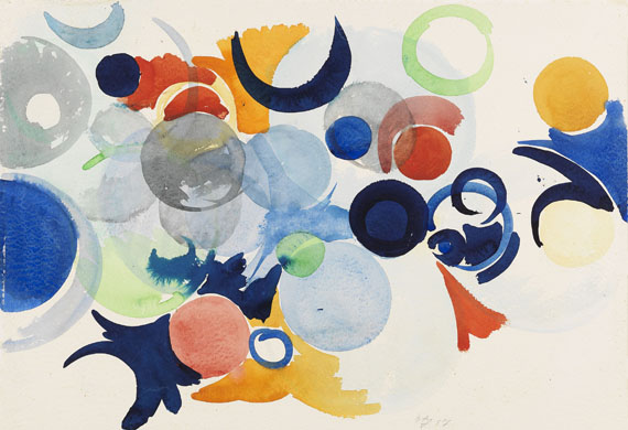 Ernst Wilhelm Nay - Komposition