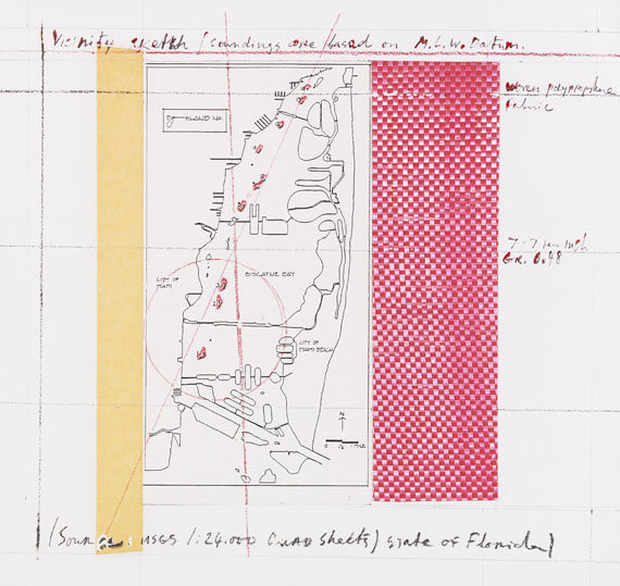 Christo - Surrounded Islands, Project for Biscayne Bay, Greater Miami, Florida -