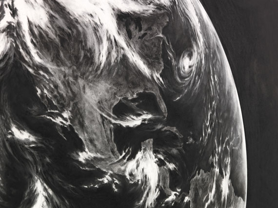 Robert Longo - Untitled (Earth, for Zander) -