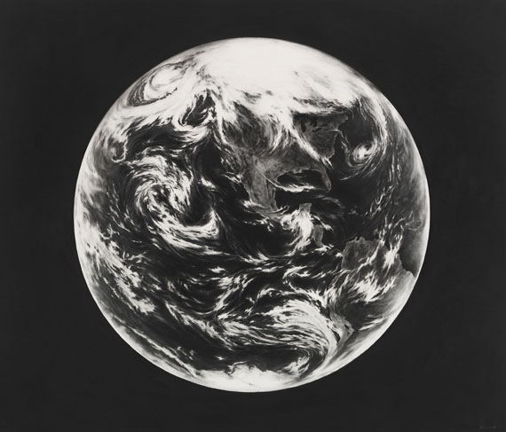 Robert Longo - Untitled (Earth, for Zander)