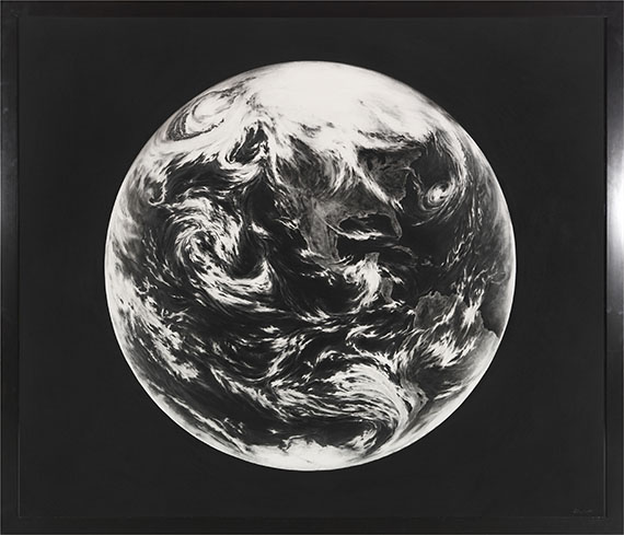 Robert Longo - Untitled (Earth, for Zander) - Frame image