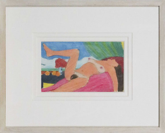 Tom Wesselmann - Study for Great American Nude #92 - Frame image