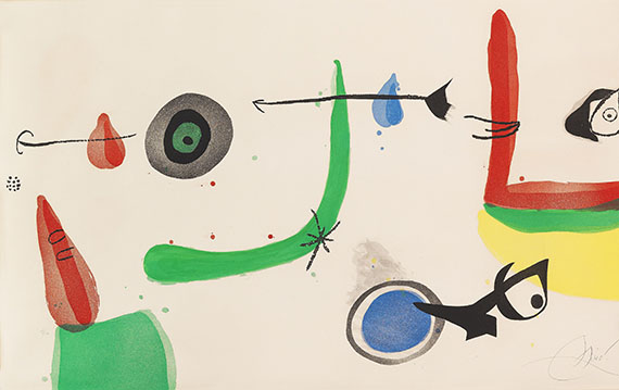 Joan Miró - Deballage II