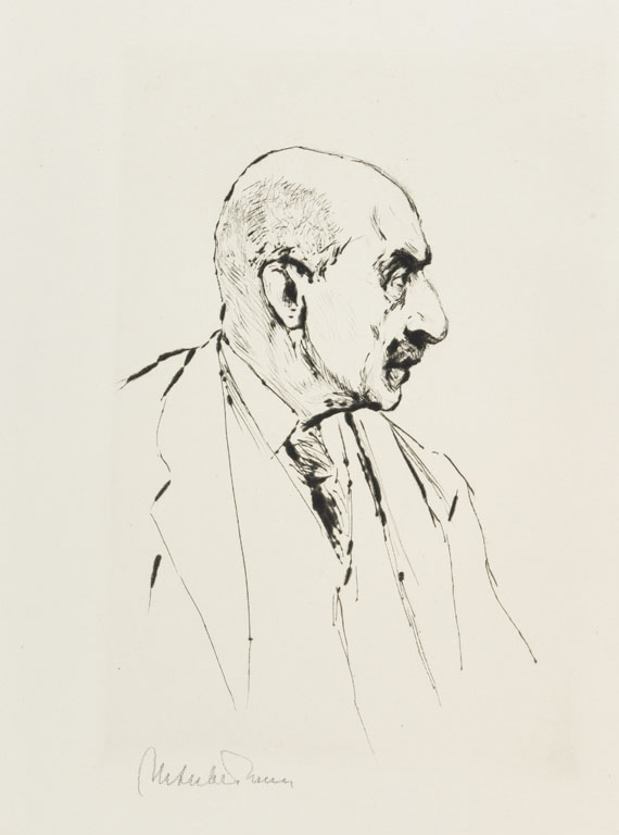 Julius Elias - Max Liebermann