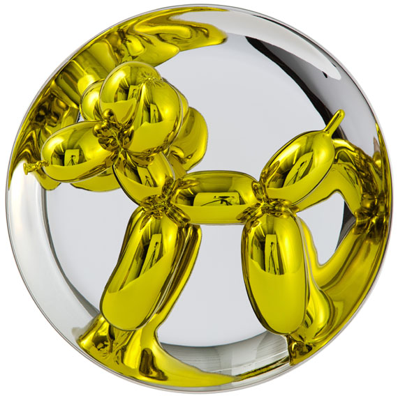 Jeff Koons - Balloon Dogs - Yellow, Magenta, Orange -