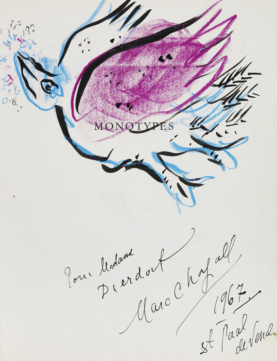 Jean Leymarie - Marc Chagall. Monotypes 1961-1965