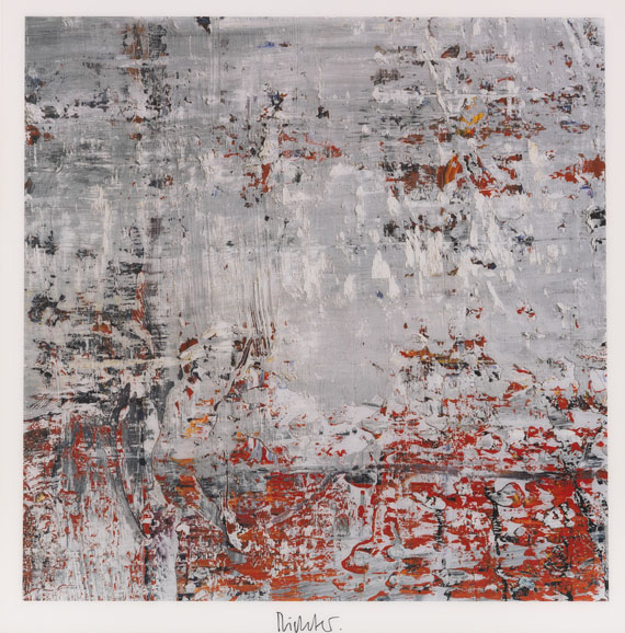 Gerhard Richter - Cage 4 Abstract Painting