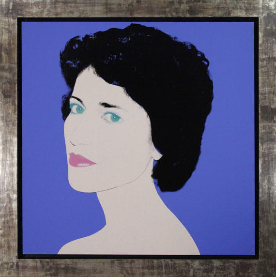 Andy Warhol - Portrait of a Lady - Frame image