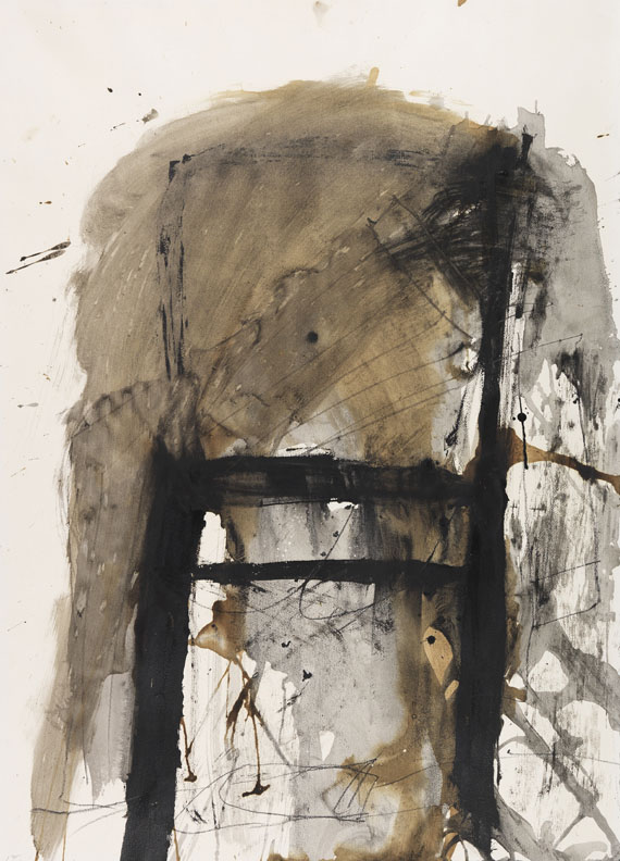 Antoni Tàpies - Chair on Paper
