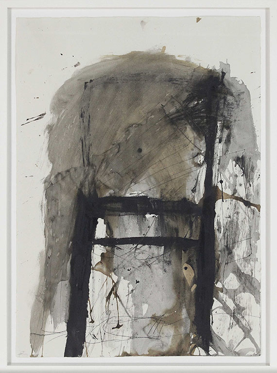 Antoni Tàpies - Chair on Paper - Frame image