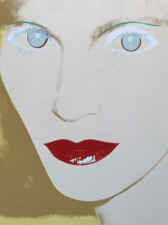 Andy Warhol - Portrait of a Lady -