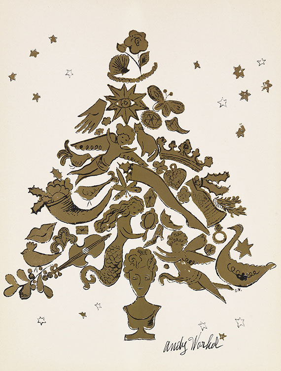Andy Warhol - Christmas Tree