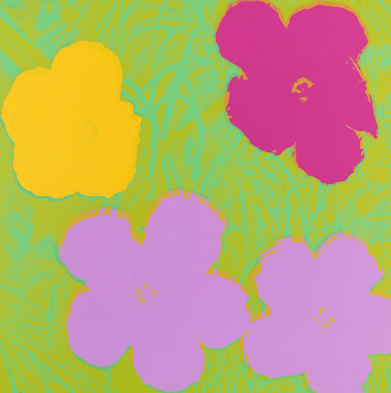 Andy Warhol - Flower