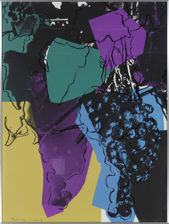 Andy Warhol - Aus: Grapes - Frame image
