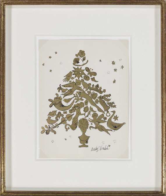 Andy Warhol - Christmas Tree - Frame image