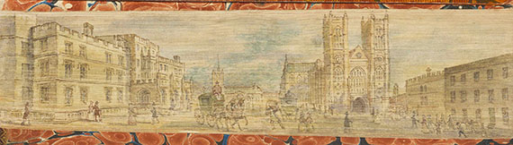 - Fore-edge Painting. 5 Bände -