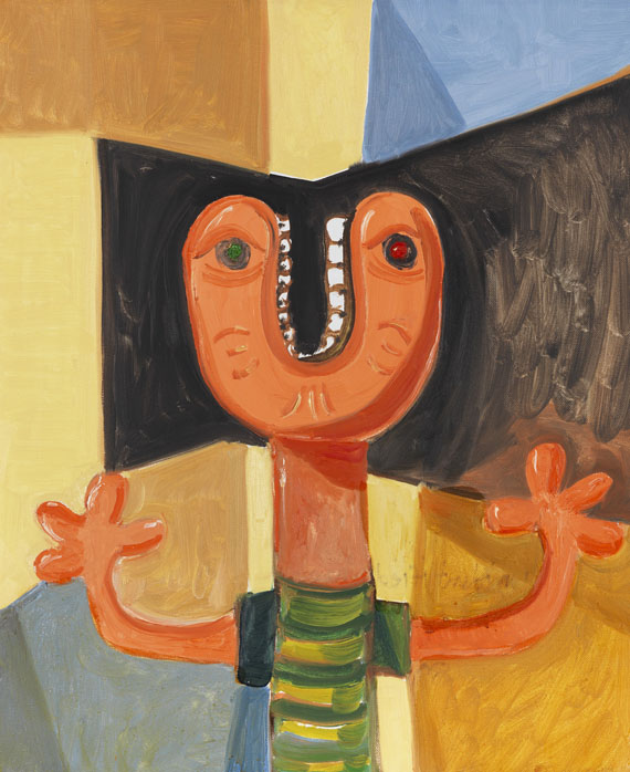George Condo - Unidentified Head