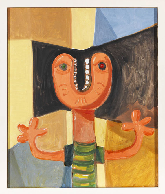 George Condo - Unidentified Head - Frame image