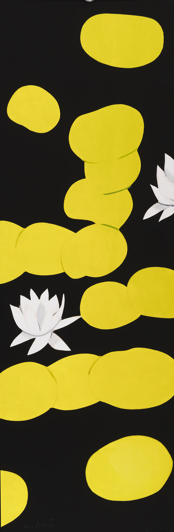 Alex Katz - Hommage to Monet (Triptychon) -
